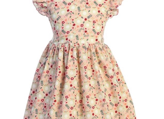 Cotton Bunny Dress, Size 4T