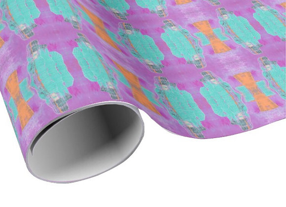 """30""""x6' Vista Tower Wrapping Paper"""