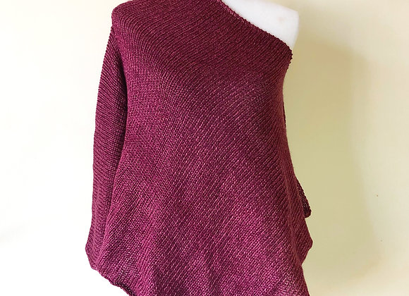 Handmade Knit Poncho