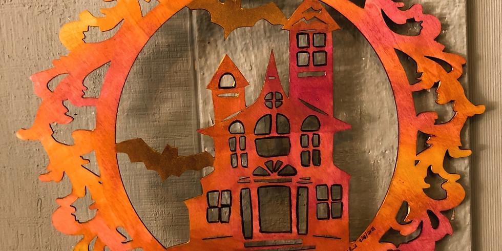 Haunted House Wreath's