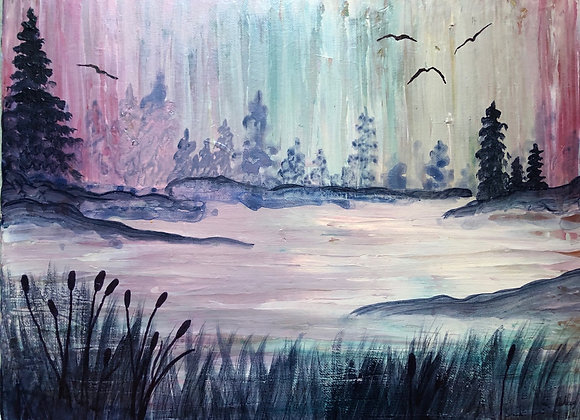 "12""x16"" Original Painting on Canvas"