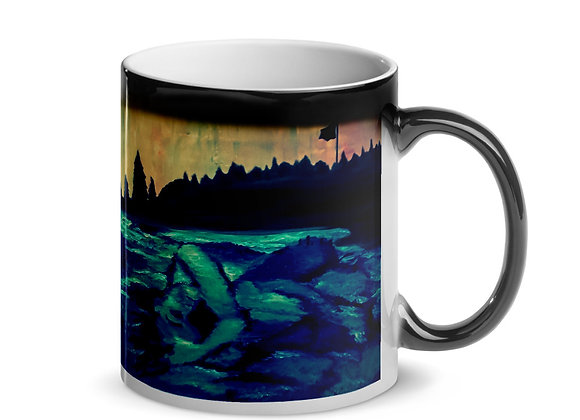 Woman of the Water Glossy Magic Mug