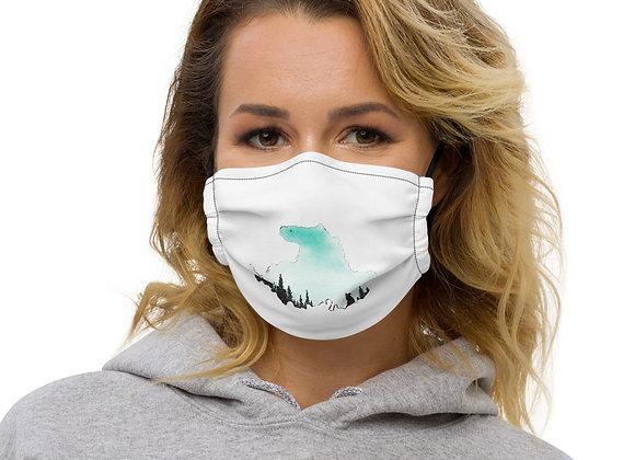 Premium Drummond Island face mask