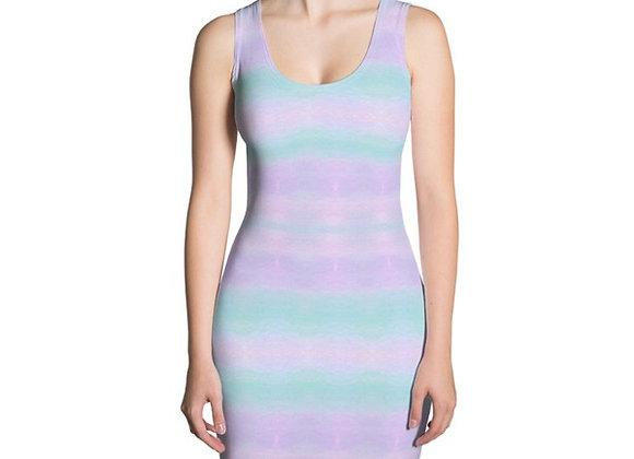 Pastel Tie Dye Sublimation Cut & Sew Dress