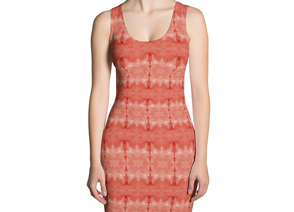 Coral Print Sublimation Cut & Sew Dress