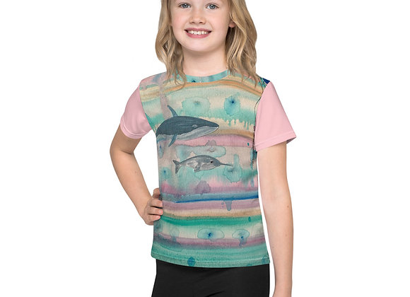Whale and Narwhal Kids T-Shirt