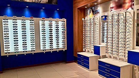 eyeglass store display kenya