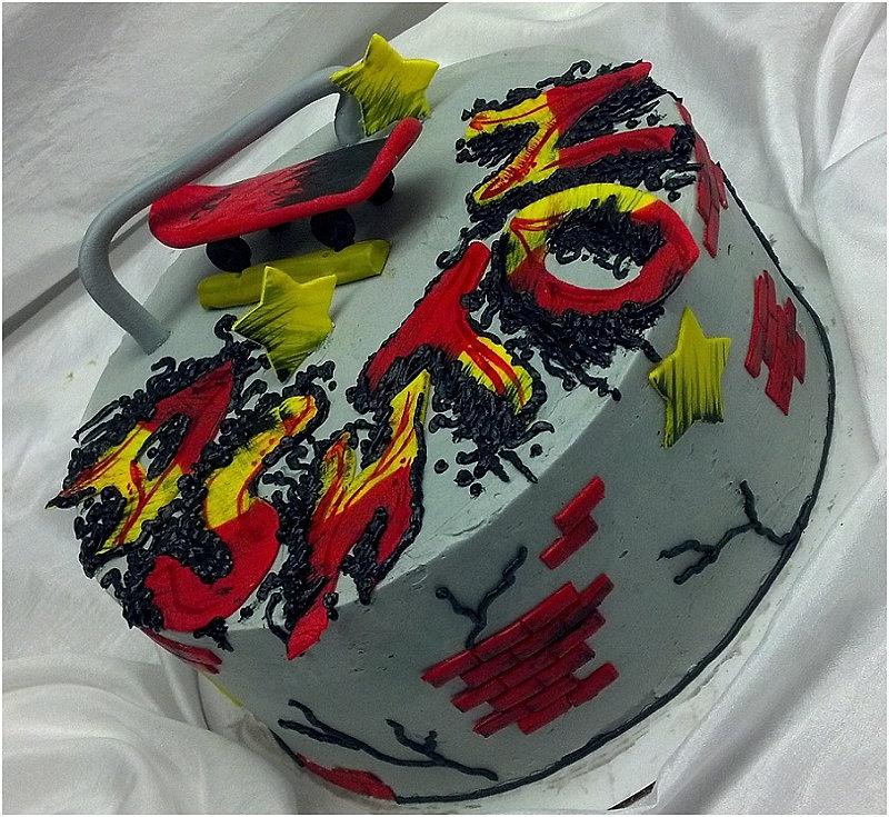 Birthday Cake Custom Image