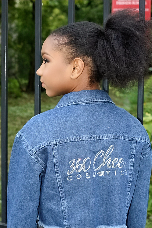 Denim 360 Jacket with Bling