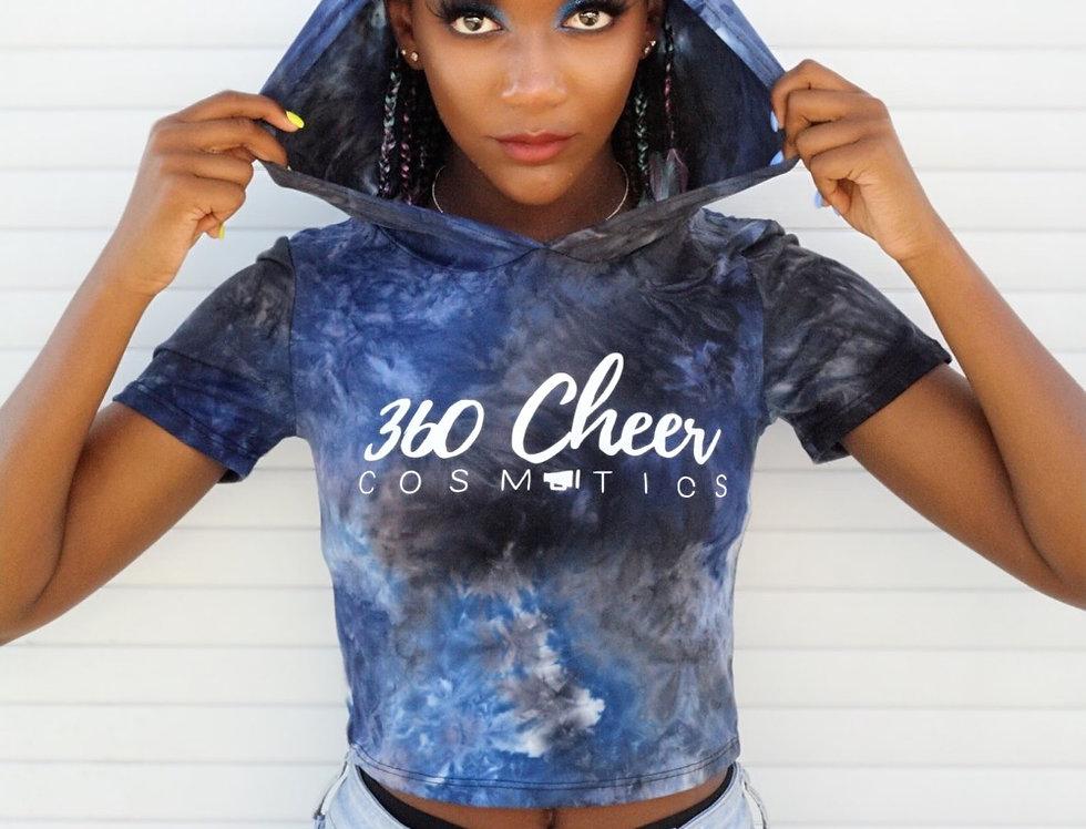 360 Blue Tie Dye