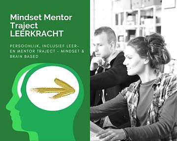 Leerkracht Mindset Mentor Traject, growt