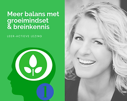 1.  Meer balans met groeimindset & brein