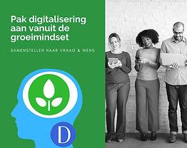 Digitalisering met groeimindset, mindset