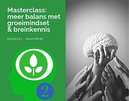 2. Masterclass meer balans met groeimind