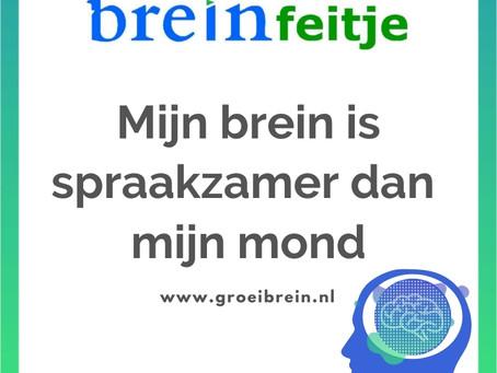 Jouw brein is spraakzamer dan je mond! Zet growth mindset in voor meer groei & succes!