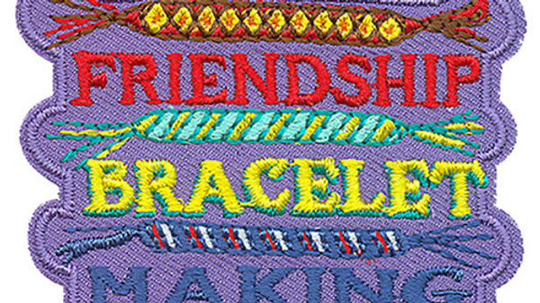 Friendship Bracelet Making Patch