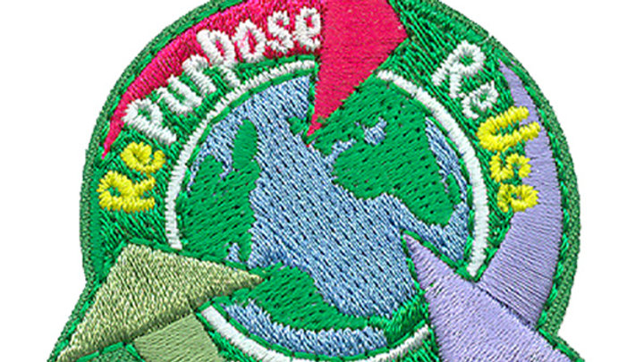 Repurpose Reuse Recycle Patch