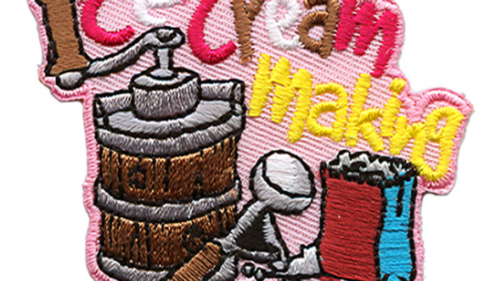 Ice Cream Making Patch
