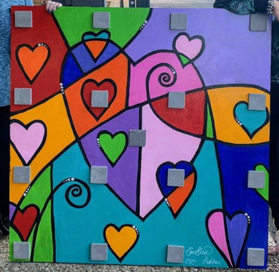 Artwork by CarolAnn Jellison & Siobhan Alexis