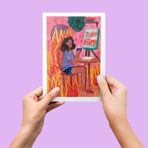 Coleção Memes e Fofuras da Internet: Print Tudo Bem