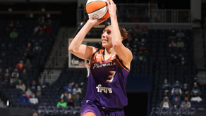 Phoenix Mercury star, Diana Taurasi, out four weeks with a chest injury