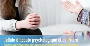 Cellule d'écoute psychologique et de prière