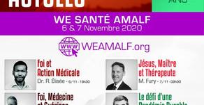 Week-end Santé AMALF les 6-7 novembre 2020 via YouTube