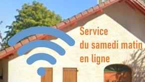 Services religieux en ligne le samedi