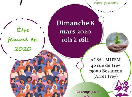 Journée internationale des Droits des Femmes - 8 mars 2020