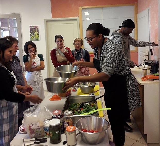 Atelier cuisine végétarien à Besançon