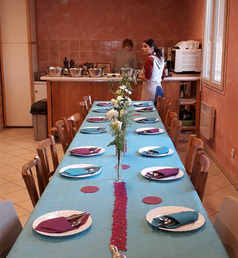 Table prête à Besançon !