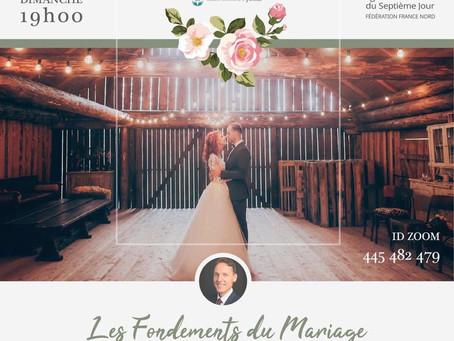 Le Mariage : Exposé-débat