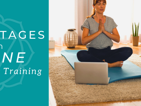 5 Advantages to an Online Yoga Teacher Training