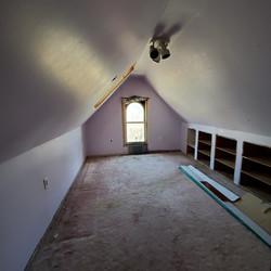 #17 attic bed empty