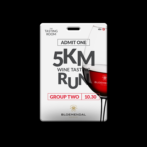5KM RUN TICKET GROUP TWO