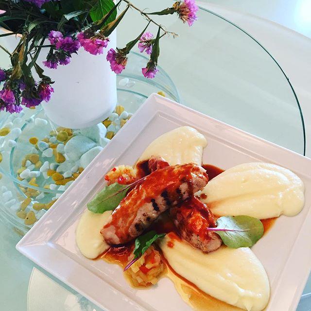 Chutney Chicken #semelihotel #thioni #thionirestaurant #semeligroup #mykonos #mykonos2016