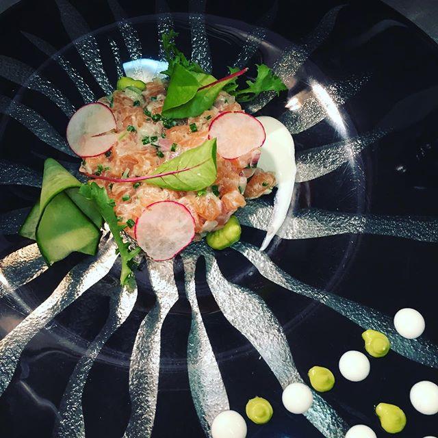 Salmon #tartare #cucumber #semelihotel #food #mykonos #mykonos2016