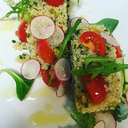 be healthy _thionirestaurant #thionirestaurant #semelihotel #semeligroup #mykonos2016 #quinoasalad