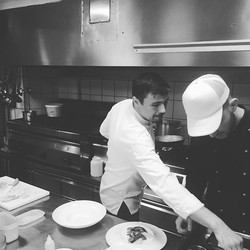 #chefinaction _thionirestaurant #semelihotel #semeligroup #thionirestaurant #mykonos2016