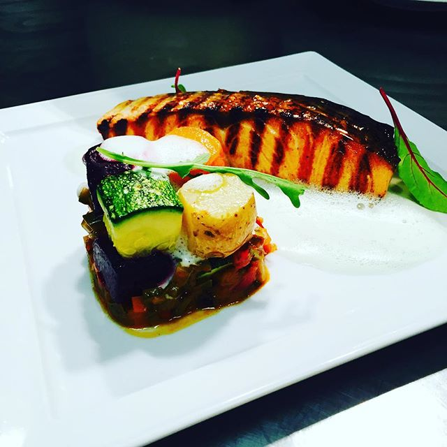 Lime Salmon #thionirestaurant #mykonos #semelihotel #semeligroup #mykonos2016