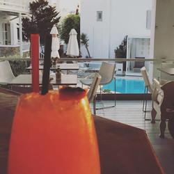 #semelihotel #thionirestaurant #mykonos2016 #cocktailsanddreams in mykonos town #semeligroup