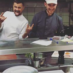 Best team _semeli_hotel #chef #mykonos2016 #mykonos #food #thionirestaurant #thionimykonos #semeligr
