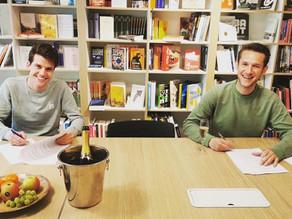 Nieuw boekcontract bij uitgeverij Fontaine