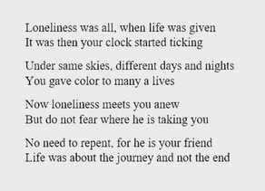 Life is about the journey (gedicht)