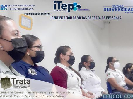 """INAUGURACIÓN DEL PRIMER CURSO ESTATAL """"IDENTIFICACIÓN DE VICTIMAS DE TRATA DE PERSONAS"""""""