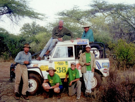 A classic report from the 2001 Rhino Charge