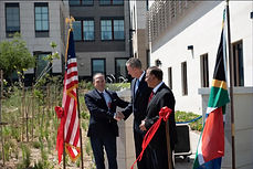 RIBBON CUTTING INAUGURATION CEREMONY US CONSULATE JOHANNESBURG, SOUTH AFRICA
