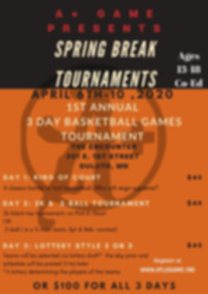 Youth Basketball camp & tournament