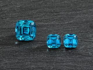Vibrant Indigo Blue Turmaline
