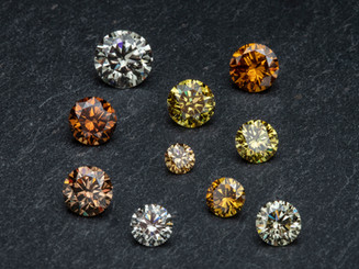 Natufarbene Diamanten